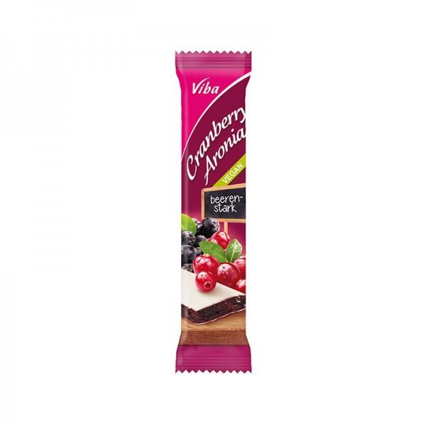 Viba Fruchtriegel Cranberry-Aronia, 35 g