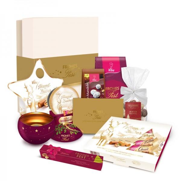 """Viba Geschenkbox """"Große Weihnachtsvielfalt"""", 800 g"""