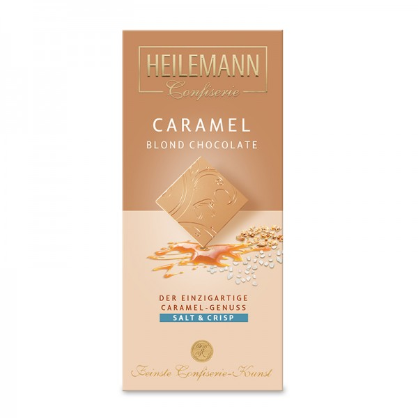 Caramel Blond Chocolate Salt & Crisp, 80g