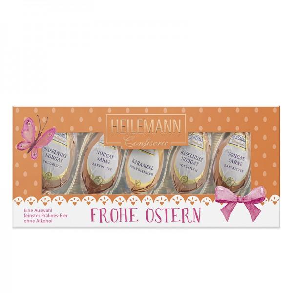 Heilemann Confiserie Geschenkpackung Ostern orange alkoholfrei