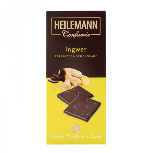 Ingwer Edelbitter-Schokolade, 80g