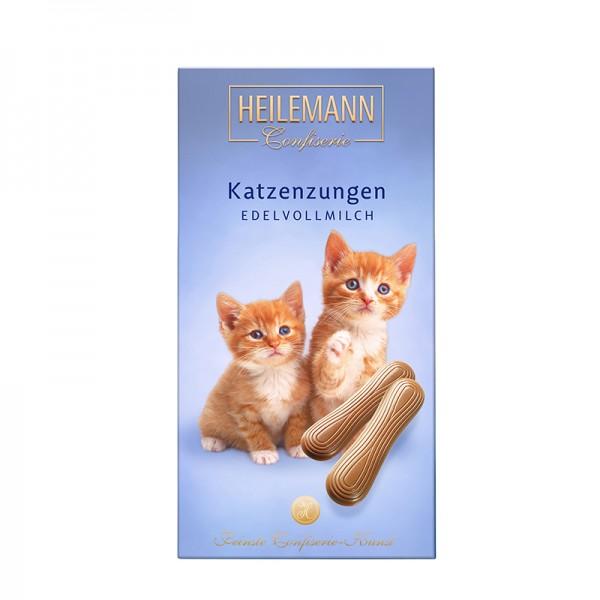Heilemann Katzenzungen aus Vollmilch-Schokolade, 75 g