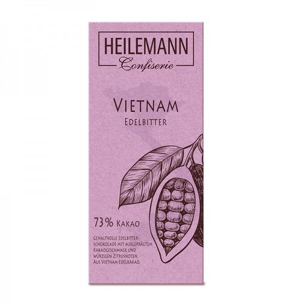 Ursprungs-Schokolade Vietnam 73 % Edelbitter, 80 g