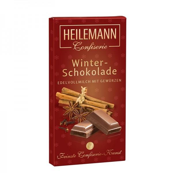 Heilemann Winter-Schokolade mit Gewürzen, 100 g