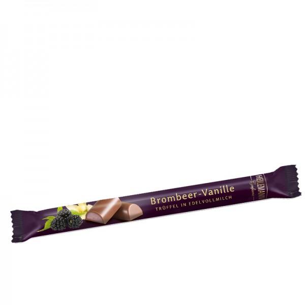 Heilemann Stick Brombeer-Vanille Edelvollmilch-Schokolade, 40 g