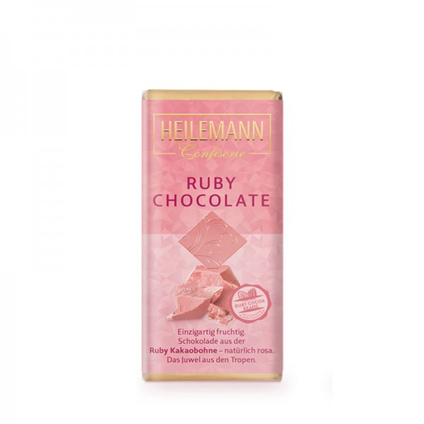 Heilemann Ruby Chocolate pur, 37 g