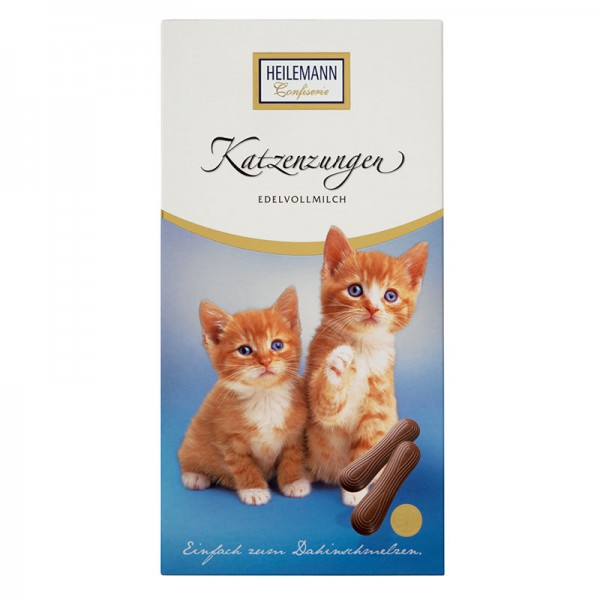 Katzenzungen aus Vollmilch-Schokolade, 75 g