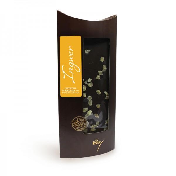 Confiserie-Schokolade Ingwer, 100 g