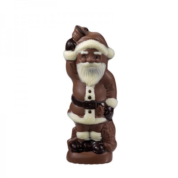 Weihnachtsmann mit Glocke, Edelvollmilch, 100g