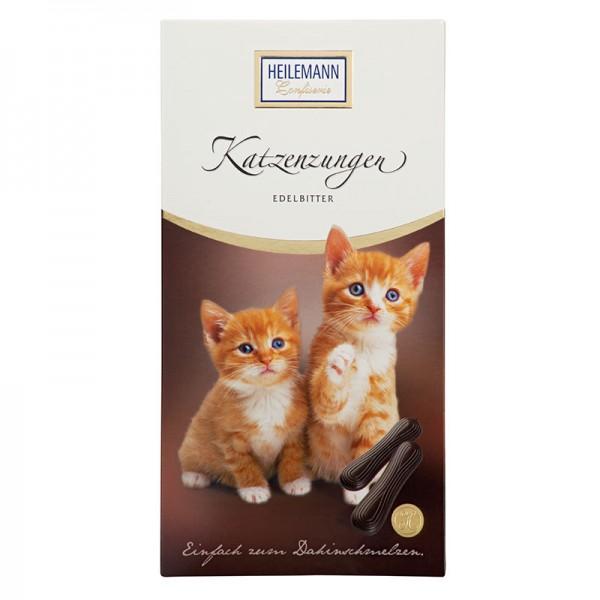 Katzenzungen aus Zartbitter-Schokolade, 75 g