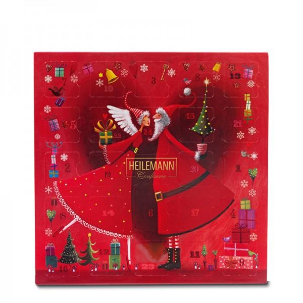 Heilemann Tisch-Adventskalender Mini-Pralinés, 154 g