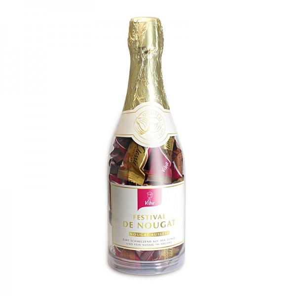 Viba Nougat-Auslese in der Sektflasche, 360 g