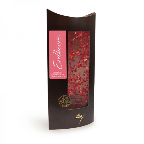 Confiserie-Schokolade Erdbeere, 100g