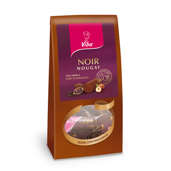 Viba Noir Nougat Beutel, 120 g