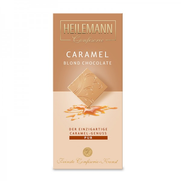 Caramel Blond Chocolate Pur, 80g