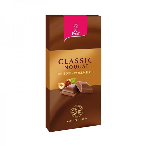 Nougat-Tafelschokolade Classic, 100 g
