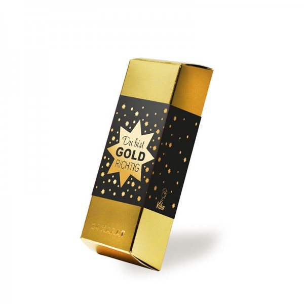 "Goldbarren ""Du bist GOLD richtig"", 180 g"