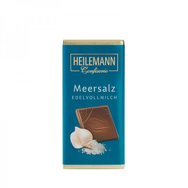 Meersalz Edelvollmilch-Schokolade, 37g