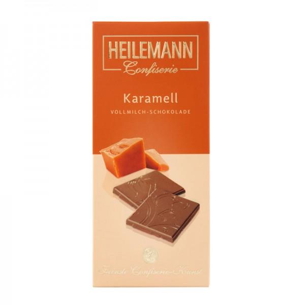 Karamell Edelvollmilch-Schokolade, 80 g