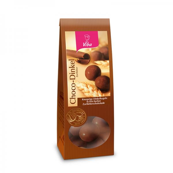 Viba Choco-Dinkel Zartbitter, 100 g