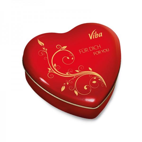 Viba Geschenkdose Herz groß, 180 g