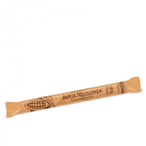 Ursprungs-Stick Papua Neuguinea 39% Edelvollmilch, 40g