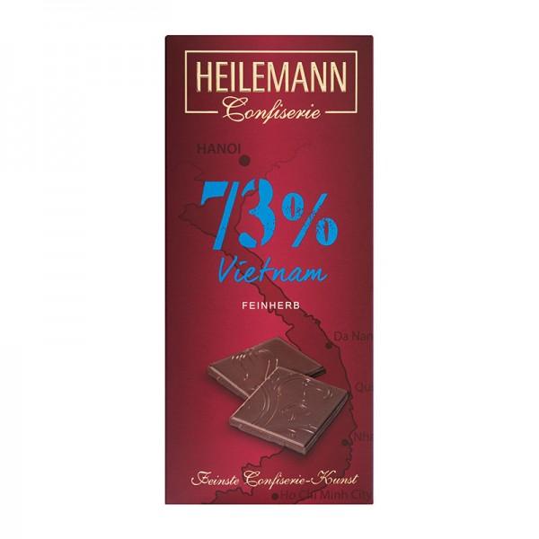 Ursprungs-Schokolade Vietnam 73% feinherb, 80 g