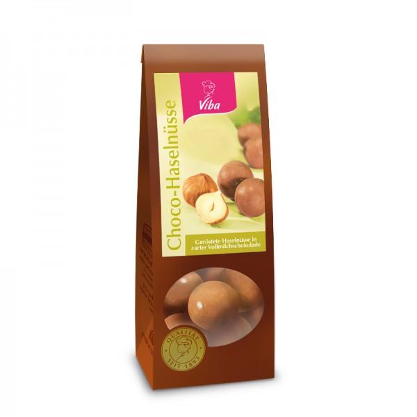 Viba Choco-Haselnüsse, 100g