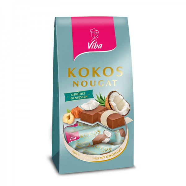 Viba Kokos Nougat, 100g