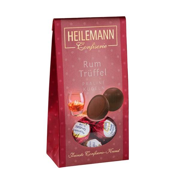 Rum-Trüffel Praliné-Kugeln im Beutel, 90 g