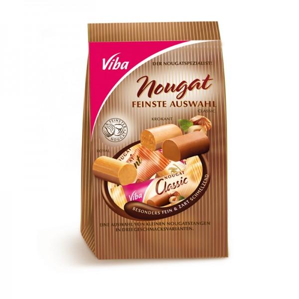 Viba Feinste Auswahl Nougat, 120 g