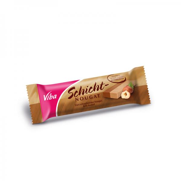 Viba Schicht-Nougat Riegel, 40 g