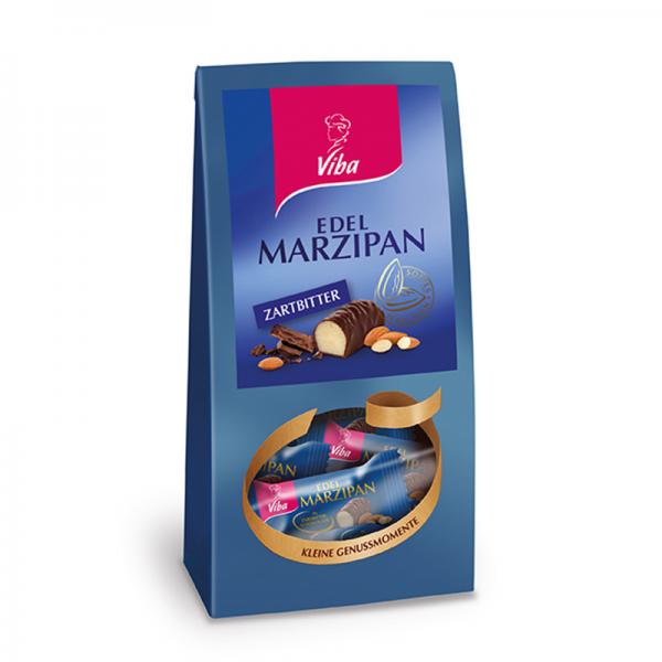 Viba Edel Marzipan Zartbitter Mini Beutel, 125 g