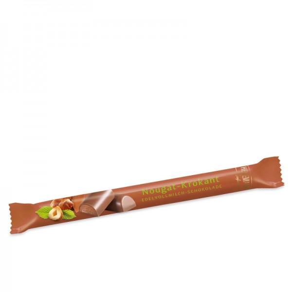 Stick Nougat-Krokant Edelvollmilch-Schokolade, 40g