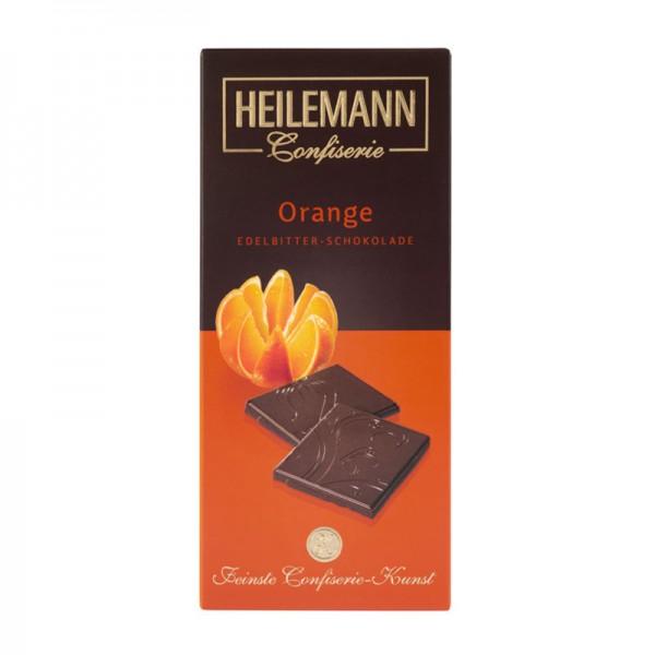 Orange Edelbitter-Schokolade, 80 g