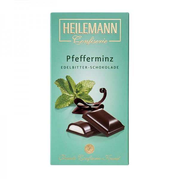 Pfefferminz in Edelbitter-Schokolade, 100g