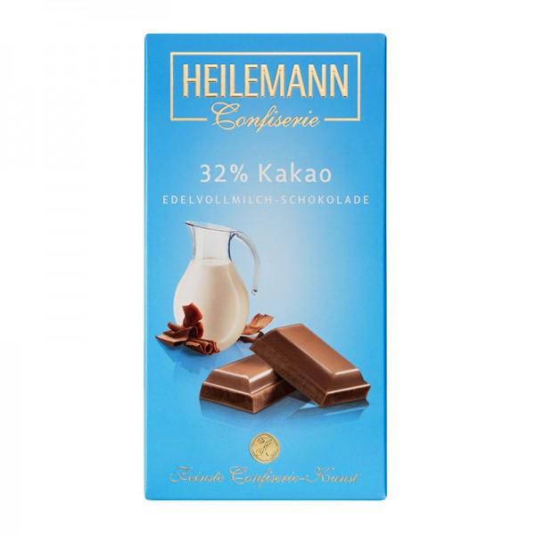 32% Kakao Edelvollmilch-Schokolade, 100g