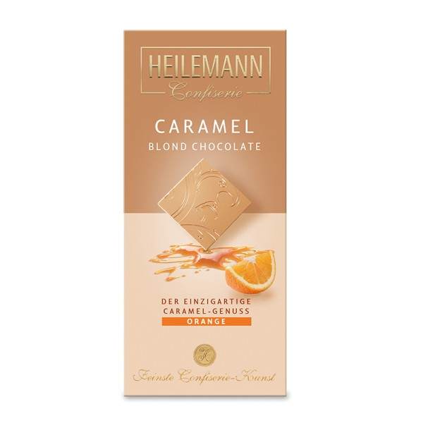 Caramel Blond Chocolate Orange, 80g