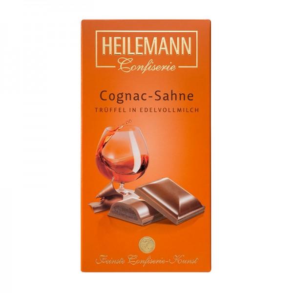 Heilemann Cognac-Sahne-Trüffel in Edelvollmilch-Schokolade, 100 g