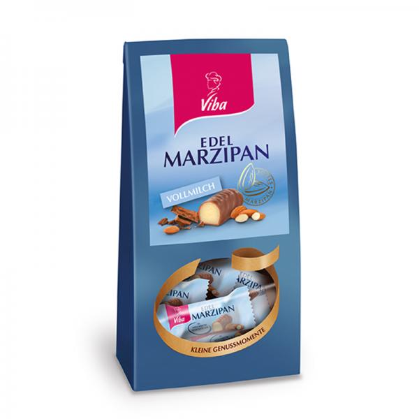Viba Edel Marzipan Vollmilch Mini Beutel, 125 g