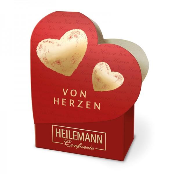 """Heilemann Kleines Schokoladen Präsent """"Von Herzen"""", 50 g"""