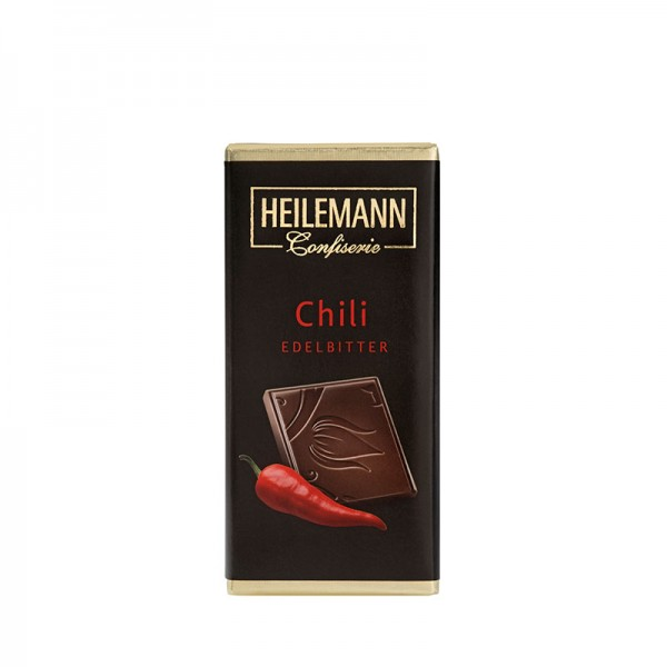 Heilemann Chili Edelbitter-Schokolade, 37 g