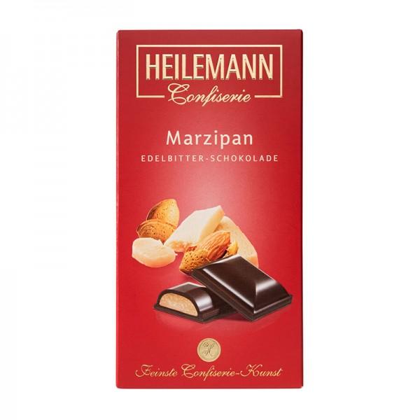 Heilemann Marzipan in Edelbitter-Schokolade, 100 g