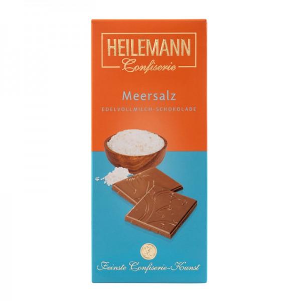 Meersalz Edelvollmilch-Schokolade, 80 g