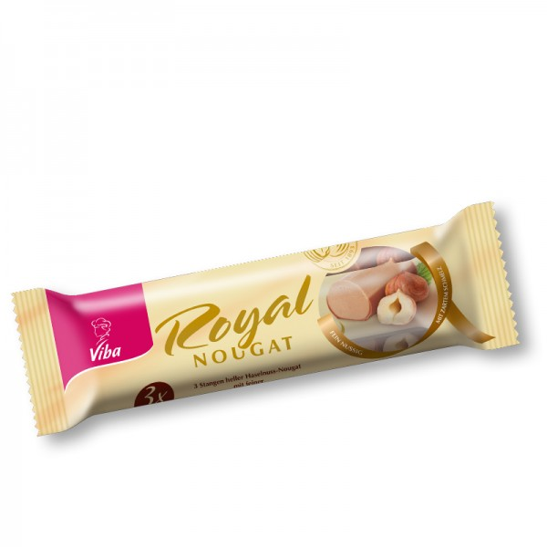 Viba Royal Nougat Jumbo 3er Pack, 135g