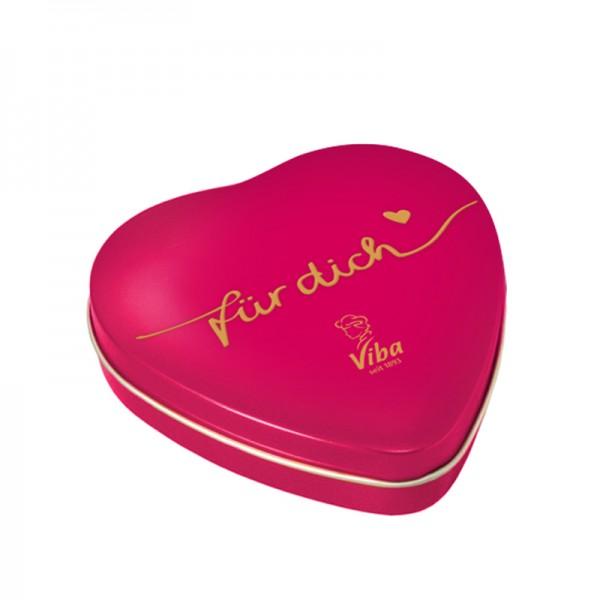 Viba Geschenkdose Herz groß, 180g