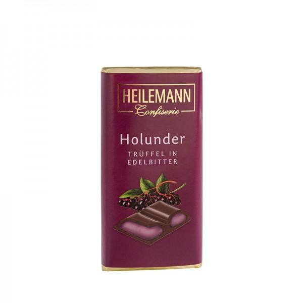 Holunder-Trüffel in Edelbitter-Schokolade, 45 g