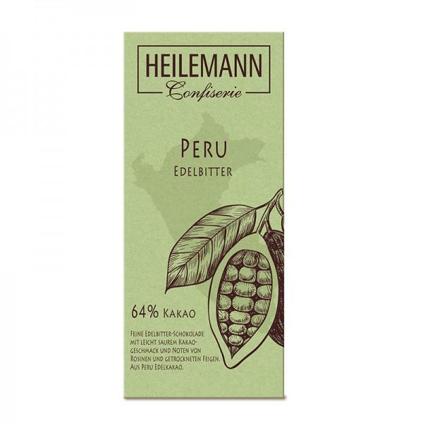 Ursprungs-Schokolade Peru 64% Edelbitter, 80g