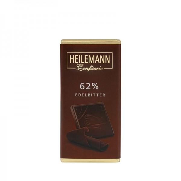 62% Kakao Edelbitter-Schokolade, 37g