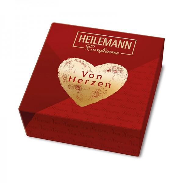"""Heilemann Kleines Nougat-Präsent """"Von Herzen"""", 75 g"""